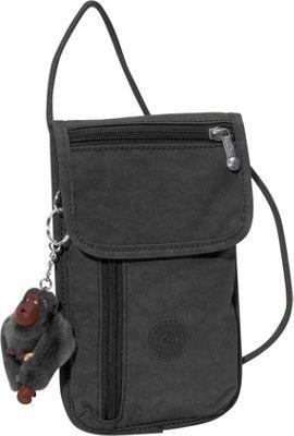 Kipling Pract Pouch Crossbody Bag Black - via eBags.com!
