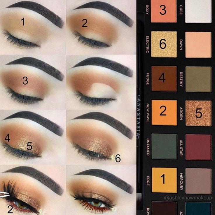 Subculture Anastasia Beverly Hills Palette Eyeshadow Lidschatten Makeup