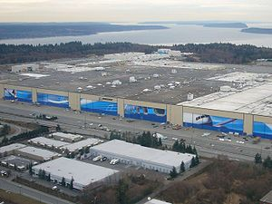 This is the world's largest building by volume. The Boeing Everett Factory is where their wide-bodied aircrafts are built - the Boeing 747s, 767s, 777s and the new 787 Dreamliner.