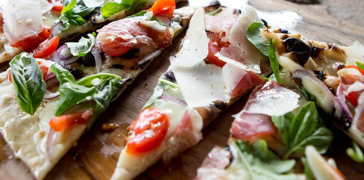 You can make a beautiful and delicious #pizza on the #braai!