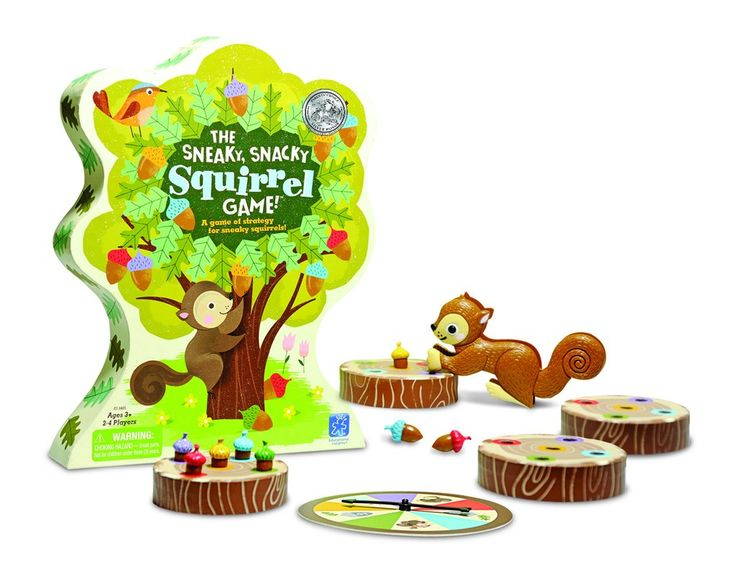 The Sneaky, Snacky Squirrel Game™