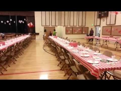 """LDS Ward Christmas Party """"Let Him In"""" - Positively Mommy"""
