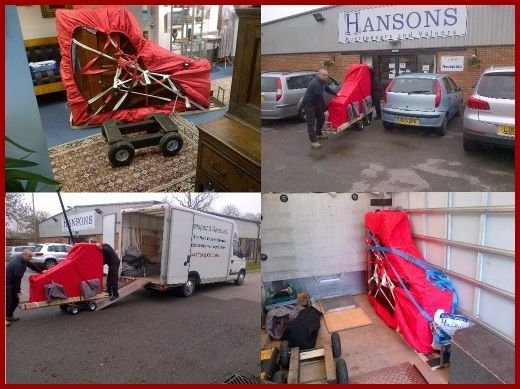 Grand piano removals collection and delivery in Burton upon Trent, Derby, Leicester