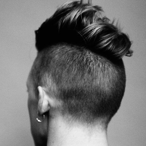 Undercut with Long Comb Over