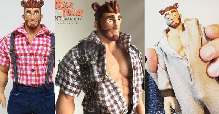 Tossa Tossa's My Bear Guy Fashion Doll Packs A Naughty Surprise
