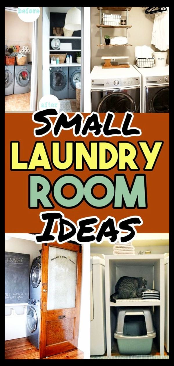 Tiny Laundry Room Ideas Diy Storage For Small Rooms St1202019 Before And After Makeover Pictures