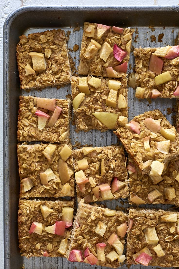 Recipe: Baked Apple-Oat Breakfast Squares — On-the-Go Breakfast Recipes
