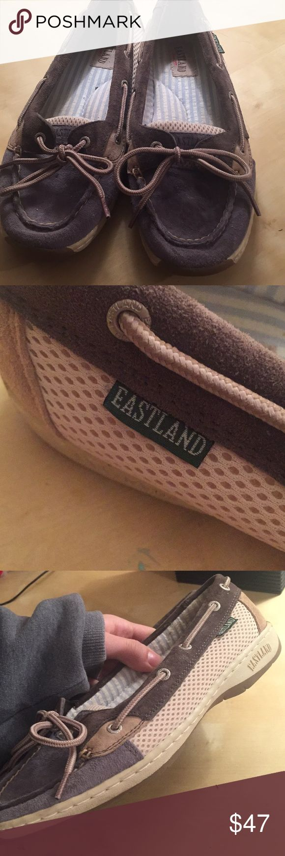 EASTLAND brand boat shoes buy 1 donate 1! Slightly used authentic EASTLAND BRAND boat shoes, original price ranging from $53-70+. Buy one pair and I will donate another pair!!! (Buying this pair will donate a pair of vans) Eastland Shoes Flats & Loafers