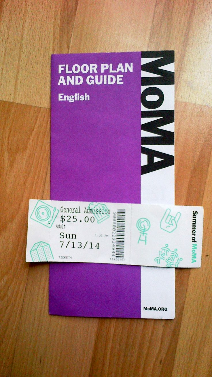 The Museum of Modern Art (MoMA) - ticket
