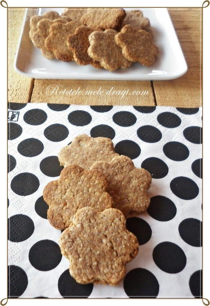 biscuiti de post cu ovaz si migdale http://www.retetelemeledragi.com/2014/03/biscuiti-de-post-cu-migdale-si-ovaz.html/