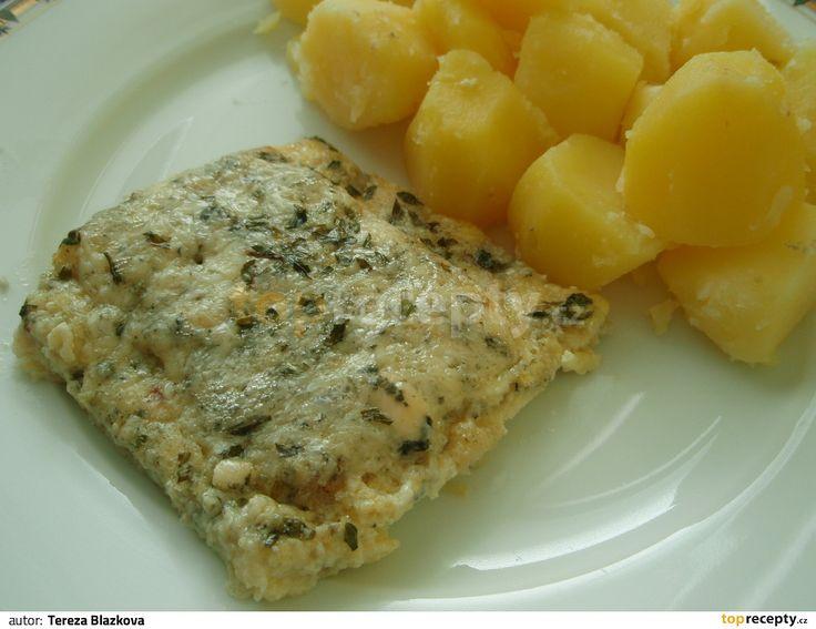 Rybí filé se sýrem