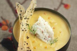 Velouté de lentilles corail et turbotin  #simple #healthy #recette #elleetvire #crème #grandecrème #coking #food #france #velouté #lentilles #corail #turbotin #cuisine