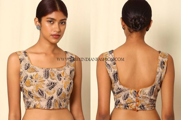 Saree Blouse Designs Front and Back