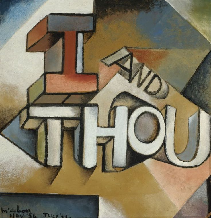 I and Thou by Colin McCahon