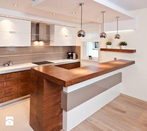 Duża kuchnia, styl nowoczesny - zdjęcie od All Design Agnieszka Lorenc