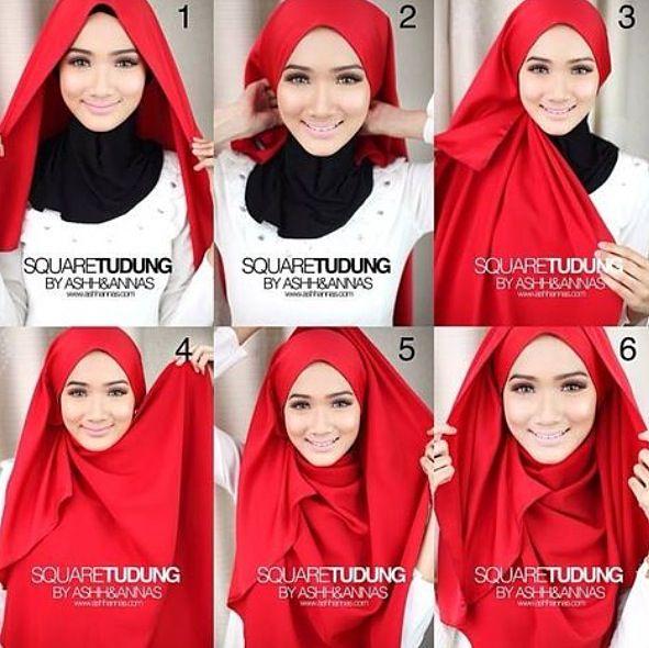 Full coverage hijab