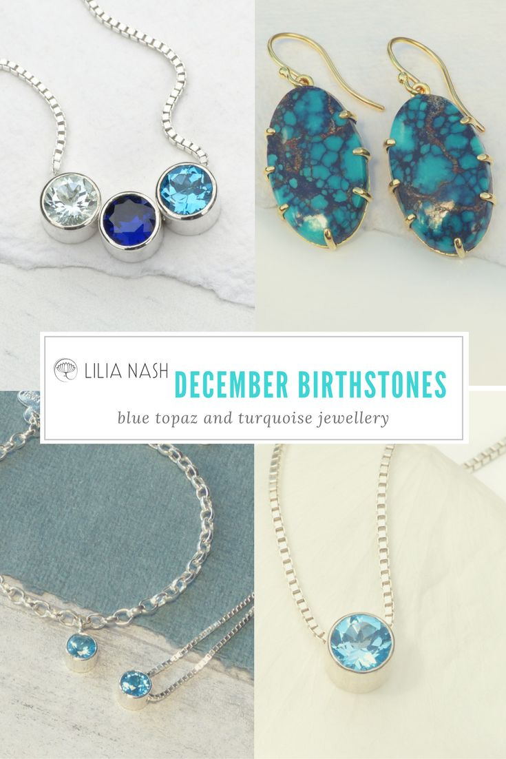 13 best December Birthstone – Blue Topaz & Turquoise images on ...