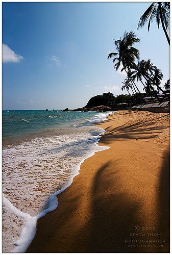 Lamai Beach at Koh Samui, Thailand.  Home to New Leaf Detox Resort www.newleafdetoxresort.com