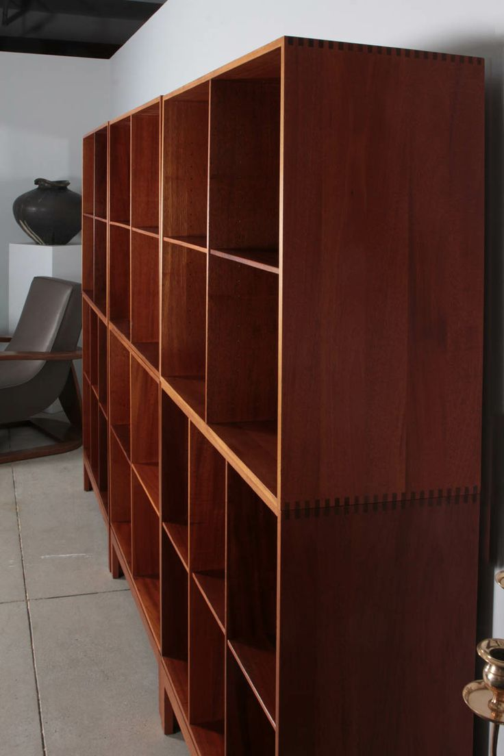 Christian Hvidt Bookcase | From a unique collection of antique and modern bookcases at http://www.1stdibs.com/furniture/storage-case-pieces/bookcases/