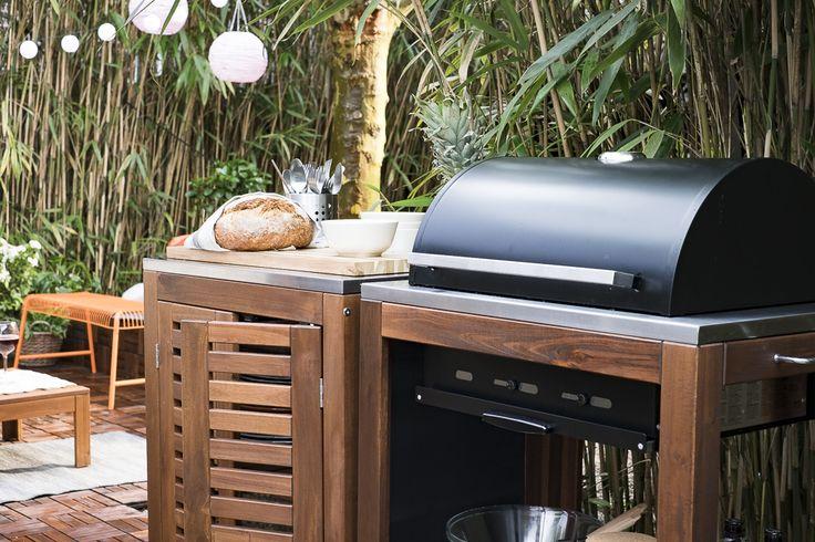 ikea ikeanl buitenleven barbecuen tuin buiten pinterest