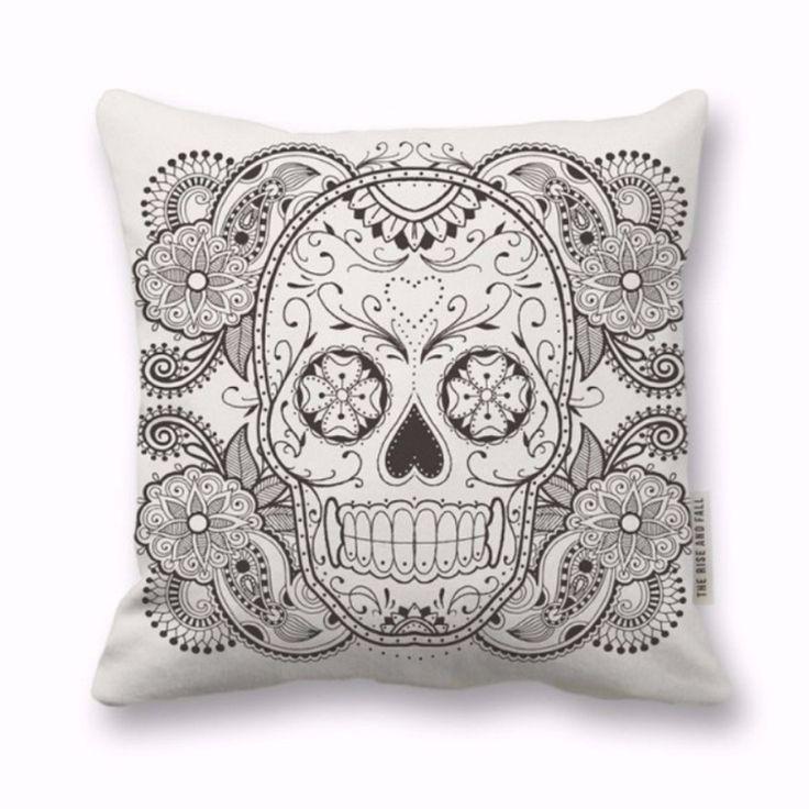 Sugar Skull Pillow