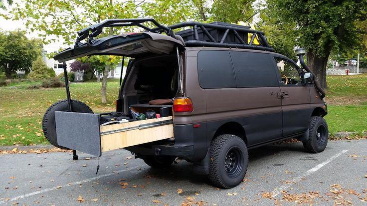 1994 4x4 Mitsubishi Delica Expedition Camper Vehiculos