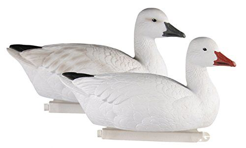 Greenhead Gear Pro-Grade Goose Decoy,Snow Goose Floaters/Active 4-pack   https://huntinggearsuperstore.com/product/greenhead-gear-pro-grade-goose-decoysnow-goose-floatersactive-4-pack/