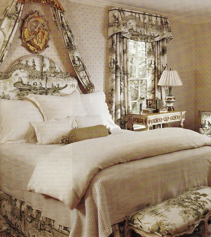 Decorating Ideas Toile Fabric: 129 Best Toile Images On Pinterest