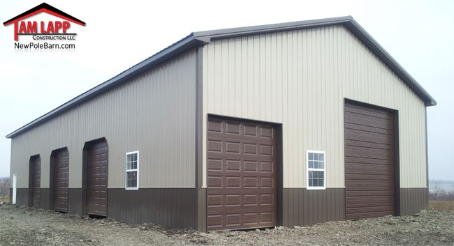 Commercial Polebarn Building In St Thomas Pennsylvania