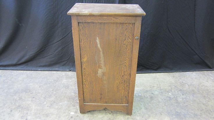 #Oak #cabinet. Needs some #repairs and #refinishing