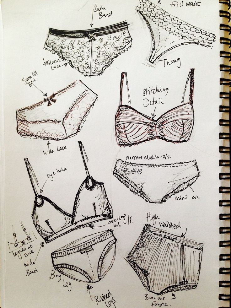 scketches lingerie - Google Search