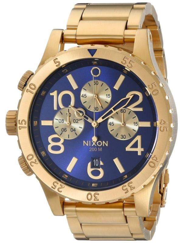 NIXON 48-20  Gold Blue A486-1922