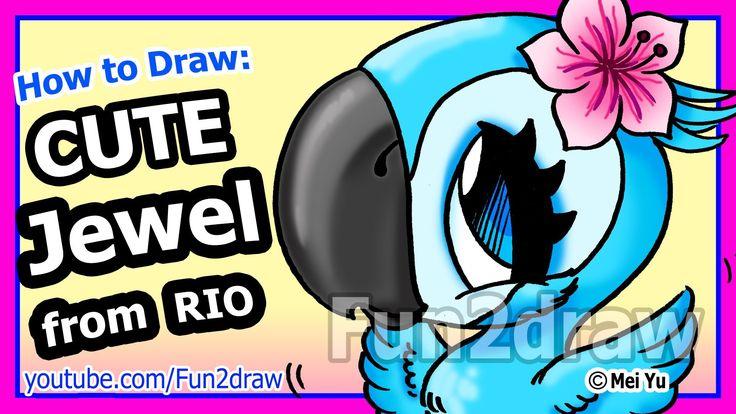 Rio 2 Movie Jewel - Fun Easy Things to Draw - Fun2draw Characters
