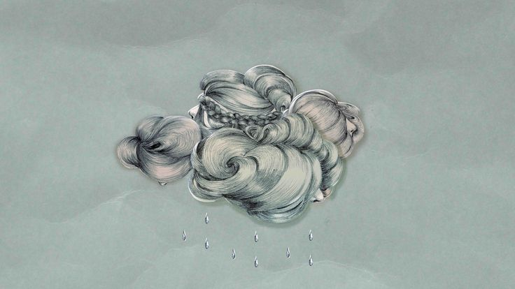 "Illustration by Charlotte Shama for the song ""Fuqaati"" (My Bubble)"