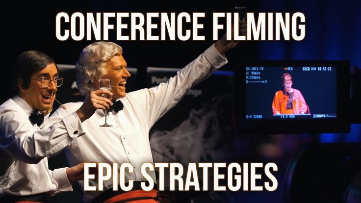 How To Film a Conference - How to Shoot with Multiple Cameras Solo Video...