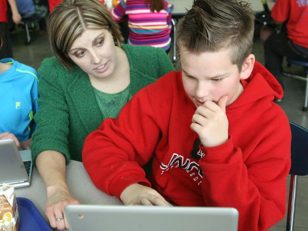 MASON CITY | Lincoln Intermediate recently joined more than 10,000 Iowa  students engaging in a computer
