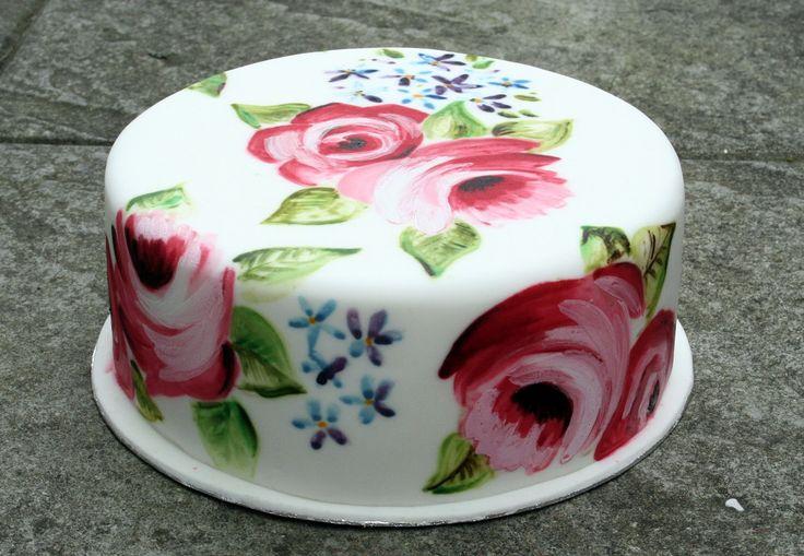 La pintura sobre Fondant es una opción maravillosa para decorar tortas y cupcakes, te contamos todo lo que necesitas saber sobre esta novedosa técnica: