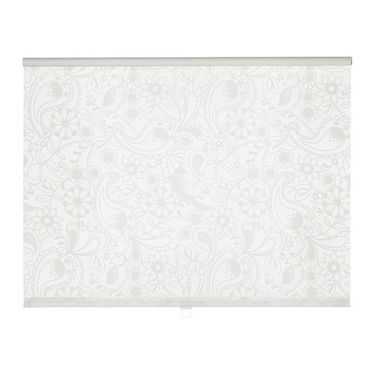 IKEA LISELOTT roller blind The blind is cordless for increased child safety.
