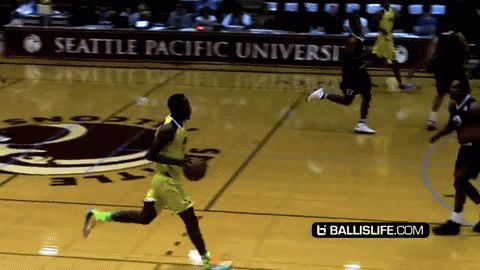 Watch the Philadelphia 76ers' Tony Wroten lose a defender at the Seattle Pro-Am with one of the best Shammgod crossovers you'll ever see.