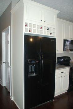 16 best New ideas for above fridge images on Pinterest | Kitchen ...