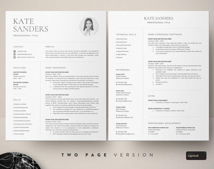 Pin By Ivan Del Toro On Cv Resume Template Word Resume Templates Cv Template