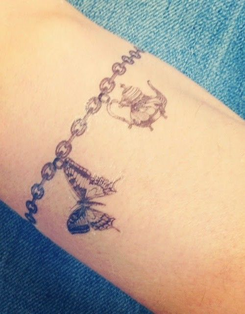 Bracelet Tattoo Ideas 2017
