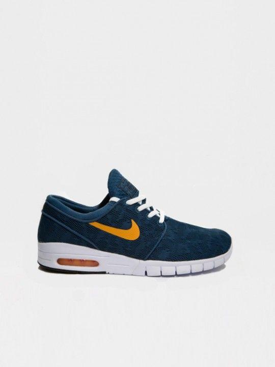 Nike Stefan Janoski Max Blue #sneakers #schoenen #heren #mode #nike #janoski #max