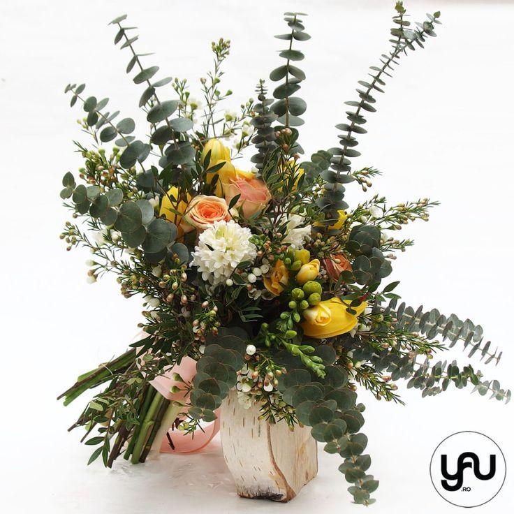 Buchet organic cu flori de primavara   La multi ani femei dragi! - YaU Concept BLOG