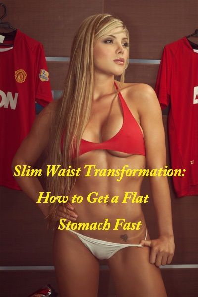how to make stomach slim