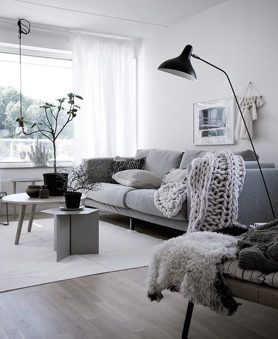 salon estilo nordico