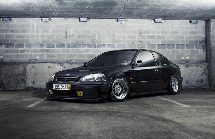 Honda #Civic...#JDM style. So #clean. #Ek #BBS #Stance #Japan ...