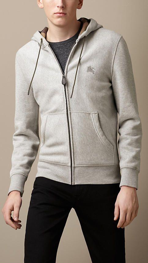 burberry hoodie mens