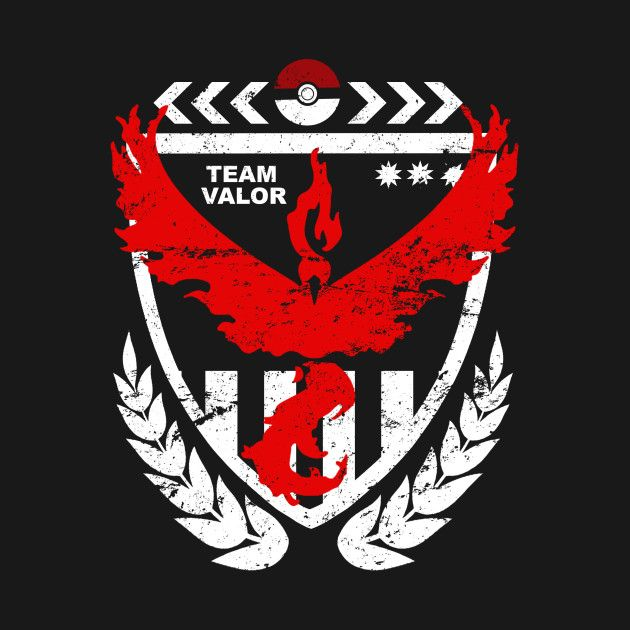 #TeamValor Who's with me!