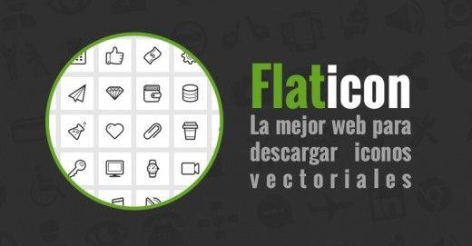 Flaticon.com, la mejor web de descarga de iconos planos - MLG Diseño